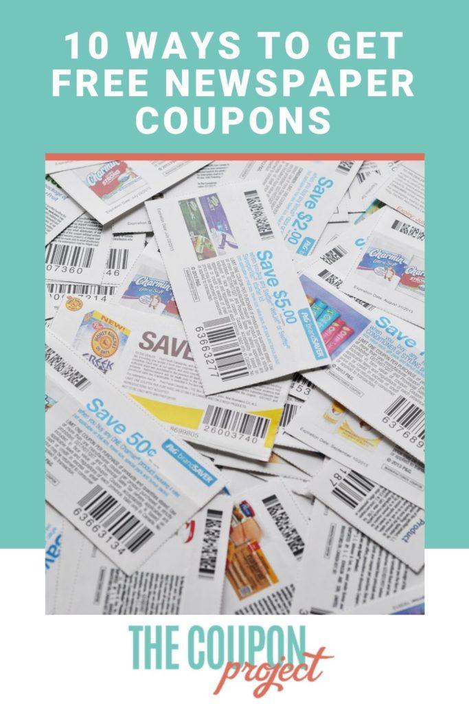 Möglichkeiten, kostenlose Zeitungsgutscheine zu erhalten